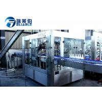 Carbonated Gas Sparkling Beverage Drink Beer Filling Machine PLC + Touch Screen Control Manufactures