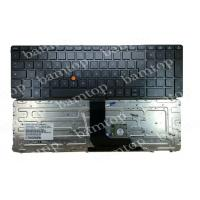 Gray HP Notebook French Laptop Keyboard Layout FR 8570W With LED Backlit Manufactures