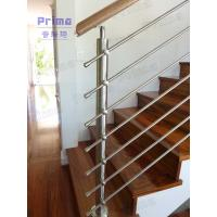 Customized decorative stainless steel rod stairs railing Manufactures