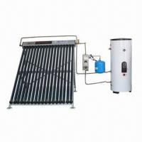 China Split pressurized solar water heater with 6 bar working pressure on sale