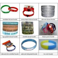Silicone Bracelet Silicone Wristband Rubber Band Manufactures