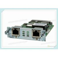 Multiflex Vwic Network Interface Card VWIC3-2MFT-T1/E1 With 2 X T1 / E1 Network Wan Manufactures