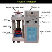 China Hot Sale Automatic Concrete Compression Strength Testing Equipment on sale