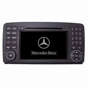 China 7 Inch Mercedes Benz Gps Navigation Dvd 3g Player Original Steering Wheel Control on sale