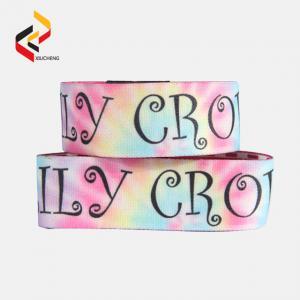 Custom Polyester Christmas RFID Stretch Wristband Elastic Bracelet Manufactures