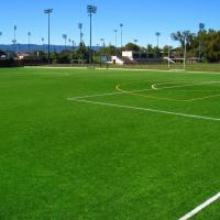 Forever Green Artificial Grass Football Pitch / Football Artificial Turf Long Service Manufactures