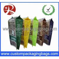 Waterproof Printing Stand Up Plastic Food Packaging Bags / Branded Popcorn Bags