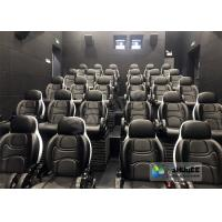 Ultra Durable 5D Movie Theater With Electric High - end System Motion Chair Manufactures
