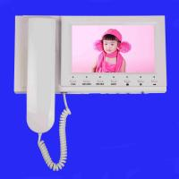 7 Inch Color Video Door Phone Monitor With Record Picture and Video Function Manufactures