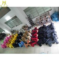 Hansel High Quality Stuffed Animal Toys Walking Animal Toy Ride Scooters Animals Electric Toys for sale