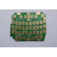 Custom Flash Gold Green Prototype PCB Boards Fabrication , Copper Clad PCB Board Manufactures