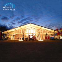 3000sqm Beautiful Outdoor Exhibition Tents , UV Resistant Car Show Canopy Manufactures