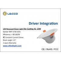 Recessed Energy Saving LED Downlight , Led Retrofit Recessed Lighting 100LM / W Manufactures