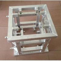 Silver Corner Block Truss Coupler , Aluminum Stage Truss System Manufactures