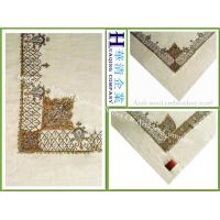 Arab pure wool embroidery scarf Manufactures