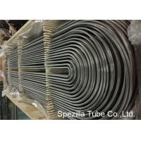 U Bend stainless steel heat exchanger tubes TP304 ASME SA213 OD 12.7-38MM Manufactures