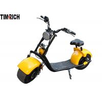 1500 Watt City Coco Electric Scooter , Two Wheeled Electric Motorcycle TM-TX-09 Manufactures