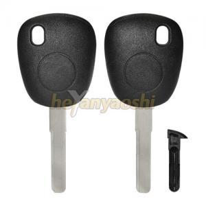 China Black Silver Saab Car Key Replacement , Hard Mobile Car Key Programming on sale
