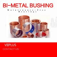 Quality Compression Moulding Sliding Bearing & Plate , Over - Molded Self Lube Bushings Customized for sale