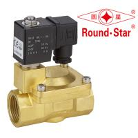 1 Inch Automatic Bistable Latching Solenoid Valve Pilot Operated Brass Manufactures