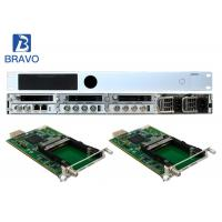 Multichannel MEPG - 2  SD HD Encoder Modulator Supporting Six Pluggable Transcoding Modules Manufactures