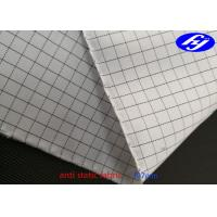 China high quality Anti Static polyester Fabric for dustproof coverall on sale