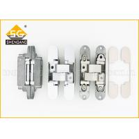 European Italy Concealed Interior Invisible Door Hinges Of Zinc Alloy Manufactures