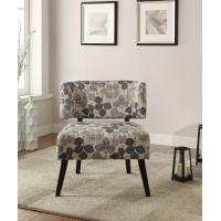 Curta Upholstered Accent Chairs Living Room With Tailored And Leaf Pattern Manufactures