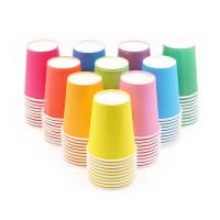 China Soup Recyclable Offset Print Customized Disposable Paper Cups on sale