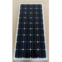 Black / Deep Blue Mono Cell Solar Panel 80W 21.6V Circuit Voltage Low - Iron Glass Manufactures