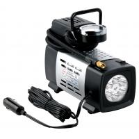 Silver Metal heavy duty portable air compressor 12v180 W Fast Inflation Manufactures