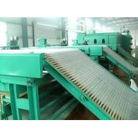 Quality Single controlle Non Woven Production Line Lapping Machine with Wind suction for sale