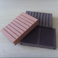 150*25mm Outdoor WPC Solid Board / Eco-friendly Plastic Wood Flooring Manufactures