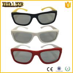 China polarized custom real d plastic passive 3d glasses for cinemas wholesale