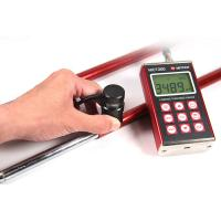 Portable cars painting Digital Coating Thickness Gauge 4 LCD With EL Backlight Manufactures