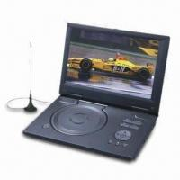 Portable DVD Player with 10.2-inch LCD, HD DVB-T, USB and Card Reader