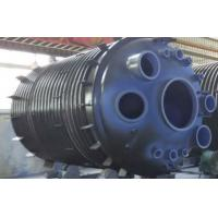 30000L Half Pipe Jacketed Vessel , jacketed pressure vessel stainless steel reactor Manufactures