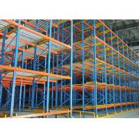 Logistic equipment gravity flow pallet rack for sale Manufactures