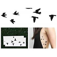 Butterfly Temporary Lower Back Body Tattoo Stickers For Adults / Children Manufactures