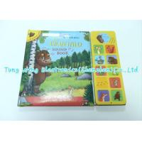 Colorful 11 button sound books for babies with Plastic housing Custom mold. Manufactures