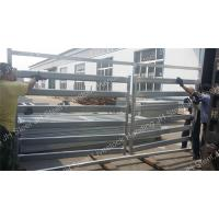 Hot Dipped Galvanized Cattle Yard Panels 5 6 Bars Cattle Horse Corral Panels Manufactures
