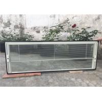 Impact Resistant Blinds Inside Glass Single Double Tempering Coating Manufactures