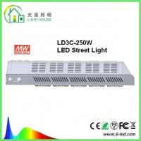 Meanwell Driver Solar Powered Led Street Lights / Led Road Lamp 250w 130 Lm / W Manufactures