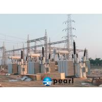 High Voltage Three phases Oil Immersed Type Transformer Step Up & Step Down Manufactures