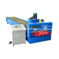 China Steel Building IBR Roofing Sheet Cold Roll Forming Machine 19 rows on sale