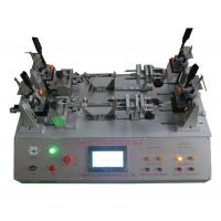 China PLC Control Linear Switch Tester Pneumatic Plug Socket Test Equipment IEC61058.1 / IEC60884 on sale