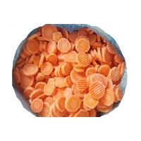 IQF Carrot Wave Slices,Frozen Carrot Wave Slices Manufactures