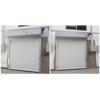 China Fast Speed Motor Drive Automatic Roller Door Panel Made Of Two Layers Aluminum on sale