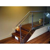 Stainless steel handrail glass balustrade system Manufactures