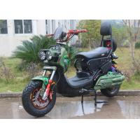 72V / 20AH Acid Battery EEC Long Range Electric Scooter With Pedals 1000W Manufactures